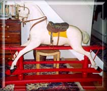 1885-Ayres-rocking horse needing restoration