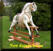 dapple-antiqued-blonde02 rocking horse
