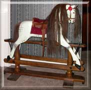 ayres-finished rocking horse